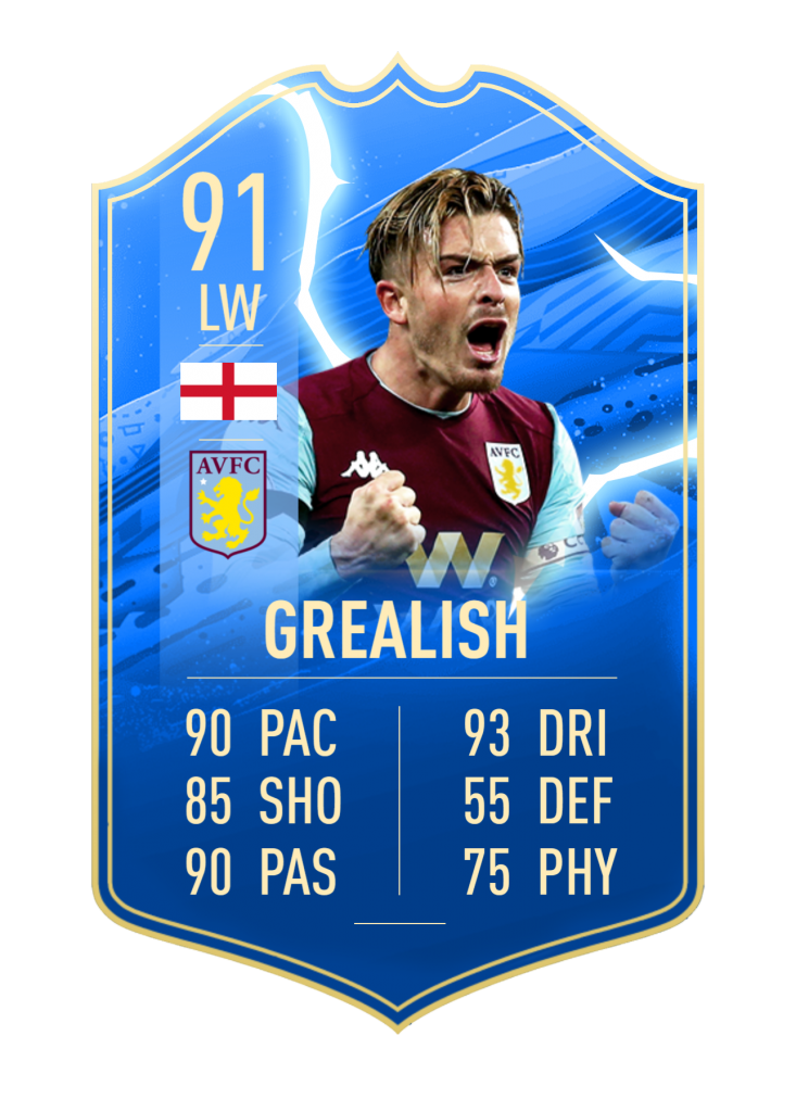 Grealish TOTS