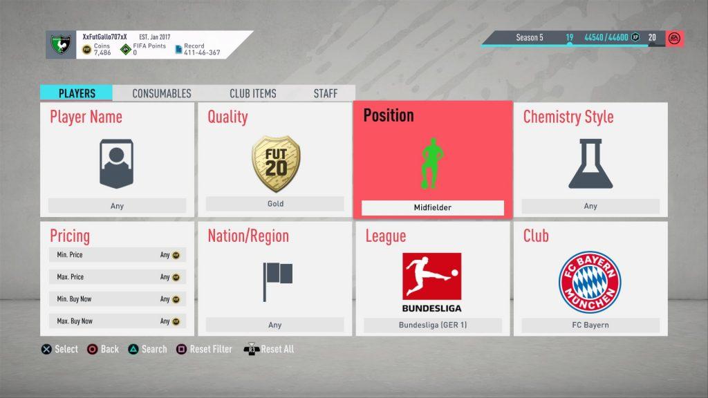 Midfielder Bayern