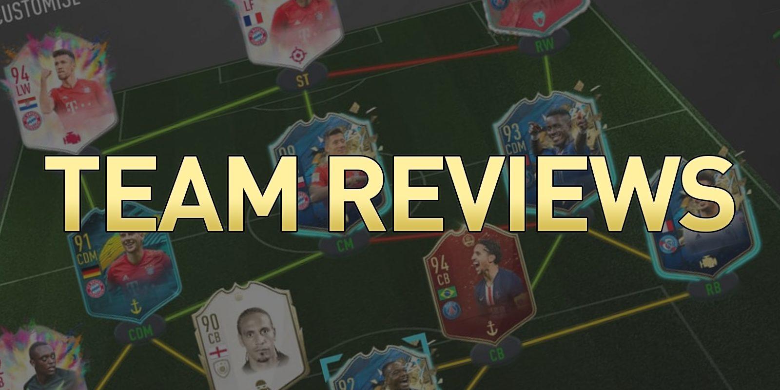 Team Reviews